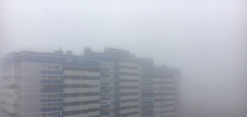 7 завораживающих фото Ижевска, окутанного туманом
