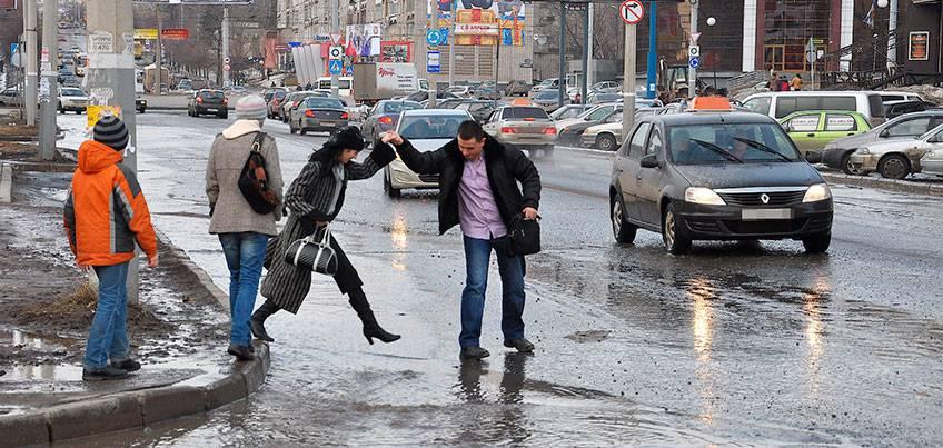 Погода в Ижевске: Всю неделю в городе будут идти дожди