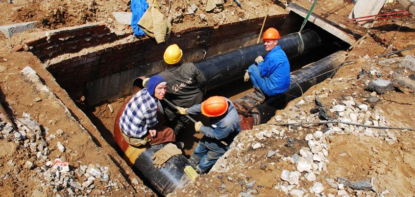 В Ижевске с 24 по 27 апреля проведут температурные испытания теплосетей