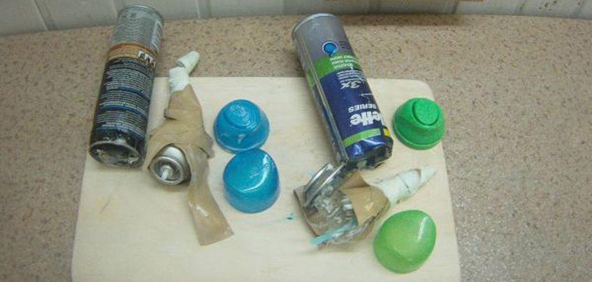 В Удмуртии женщина пыталась пронести в колонию телефоны в баллончике с гелем для бритья