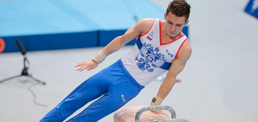 Гимнаст из Удмуртии Давид Белявский на чемпионате Европы квалифицировался в финал