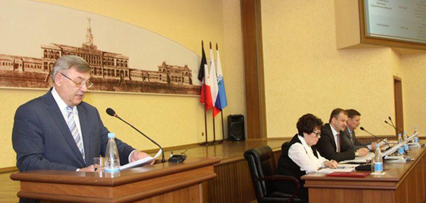 Глава Ижевска отчитался о своей работе перед депутатами Городской думы