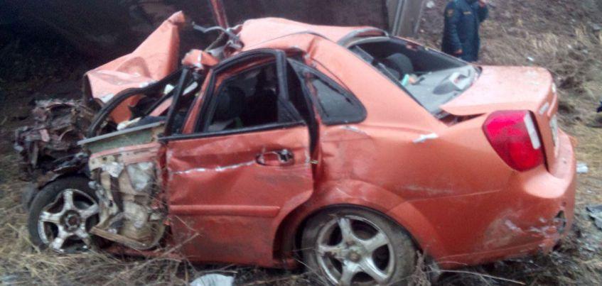 Двое жителей Удмуртии погибли в аварии из пяти машин на трассе в Татарстане