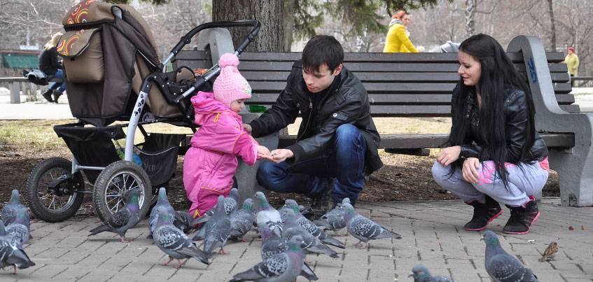 Погода в Ижевске: На неделе в городе потеплеет до +14 градусов