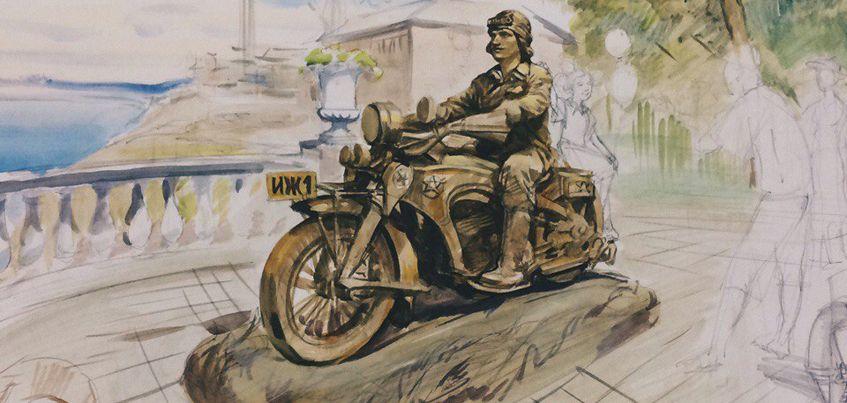 27 апреля в Ижевске представят проект памятника создателю первых ижевских мотоциклов Петру Можарову