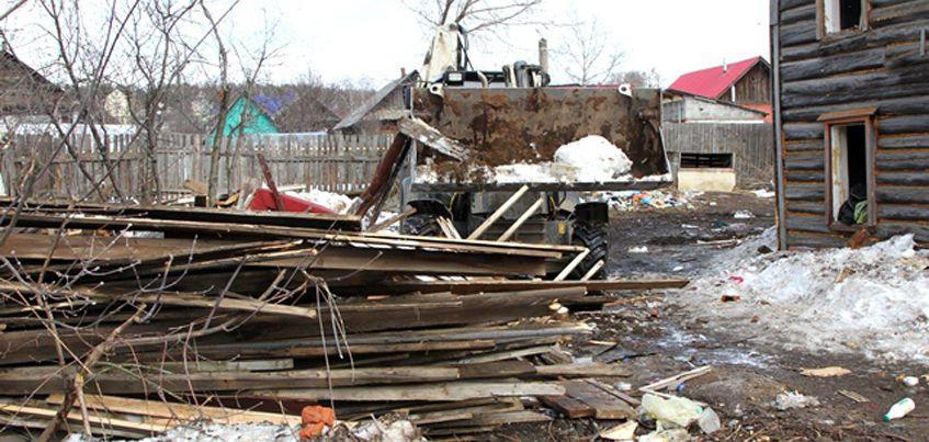 В Ижевске до 1 сентября в рамках программы переселения из ветхого жилья снесут 42 аварийных дома