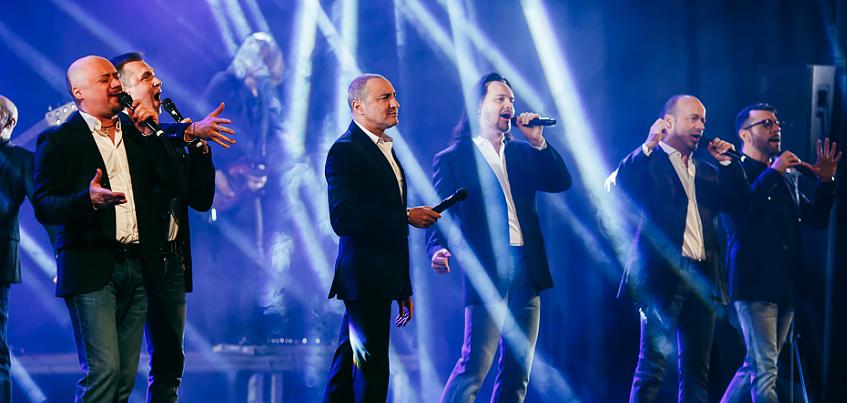 «Хор Турецкого» в Ижевске спел любимую песню Путина