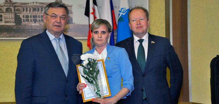 Глава Ижевска Юрий Тюрин провел торжественный прием лучших учителей города