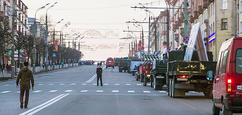Какие улицы перекроют в Ижевске в майские праздники?