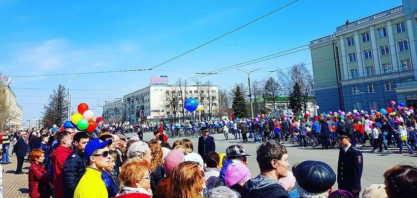 1 мая в Ижевске: как горожане отметили праздник