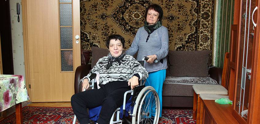 Сотрудники телеканала НТВ заинтересовались историей 40-летней ижевчанки с ДЦП