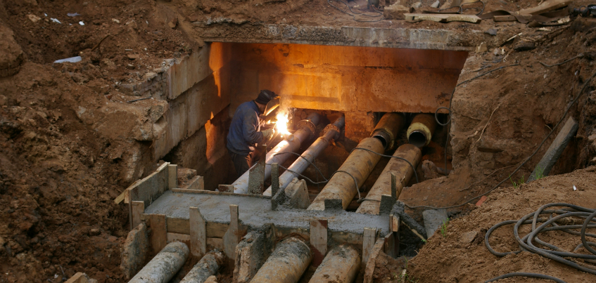 УКС: В Ижевске начался первый этап гидравлических испытаний тепловых сетей