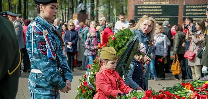 В Ижевске начались мероприятия, посвященные Дню Победы