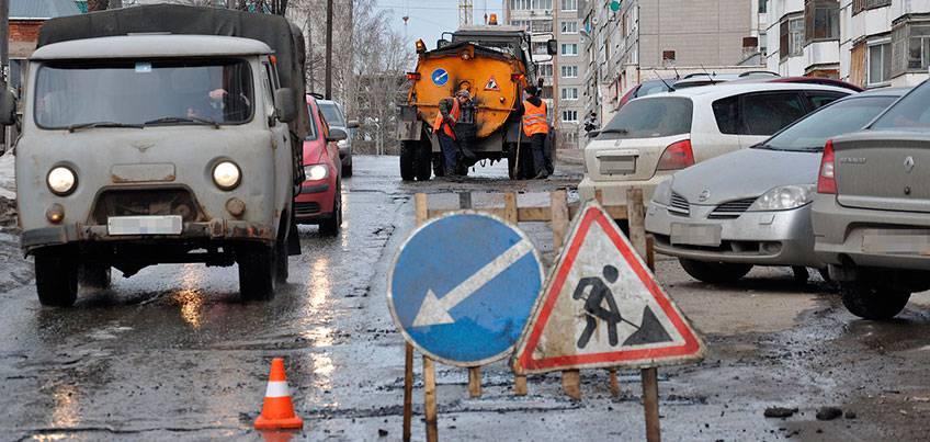 Администрация: В Ижевске с середины мая начнут капитально ремонтировать 32 участка дорог