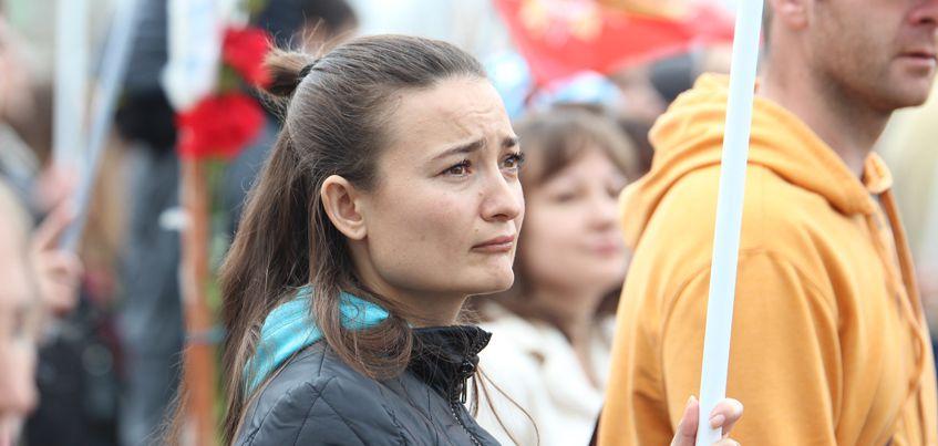9 Мая в Ижевске: 24 фото с акции «Бессмертный полк»