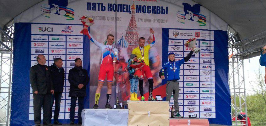 Велогонщик из Удмуртии Юрий Трофимов выиграл международную гонку «Пять колец Москвы»