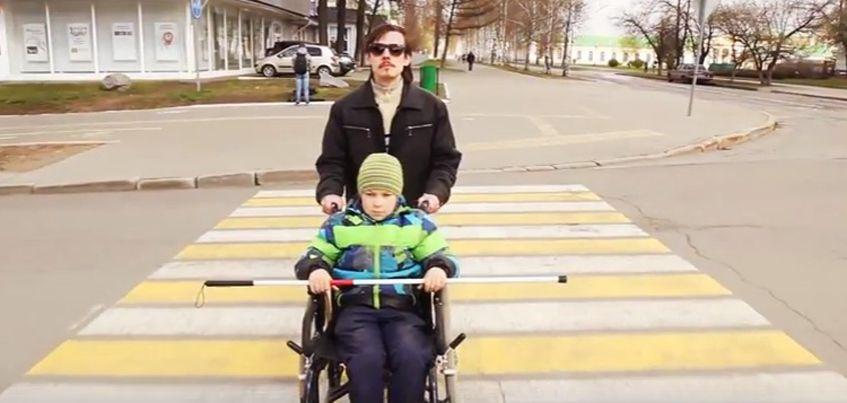 Видео: Ижевчане сняли социальный ролик о доступной среде Ижевска