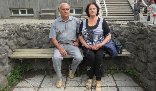 Украинские пенсионеры приехали в Ижевск из района боевых действий