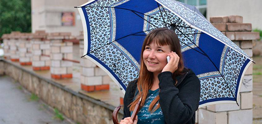 Погода в Ижевске: В городе ожидается дождливая и теплая погода