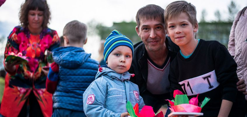Фото: Первый фестиваль водных фонариков посетили около 2 000 ижевчан