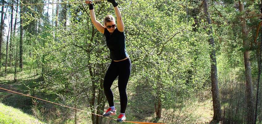 В Ижевске прошла очередная тренировка перед забегом «Гонка Победителей»