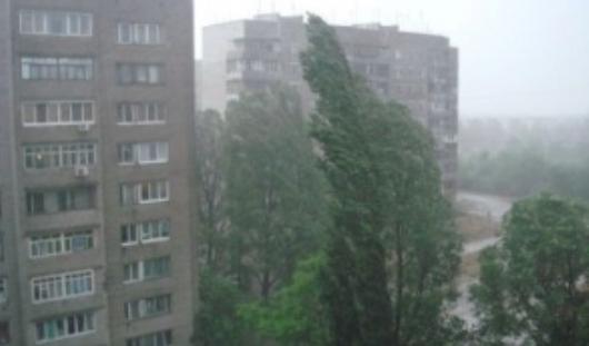 В Ижевске объявлено штормовое предупреждение