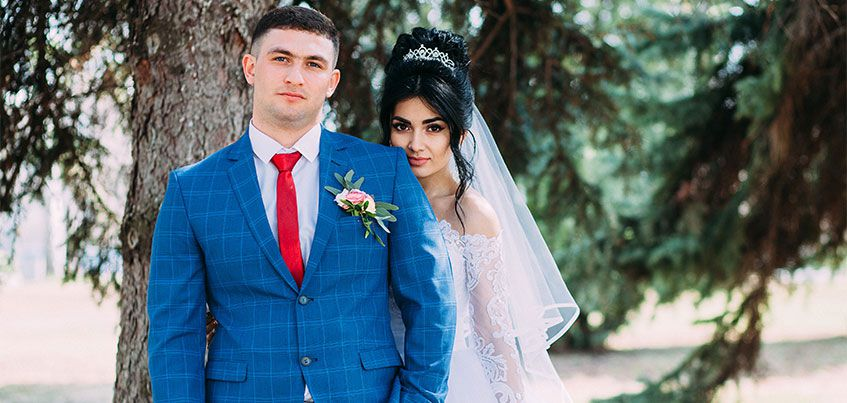 Ижевские молодожены: За неделю до свадьбы чуть не расстались