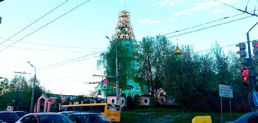 В Соборе Святой Троицы в Ижевске началось обновление колокольни