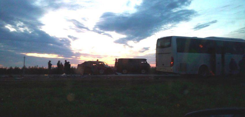 Два человека погибли в результате аварии в Алнашском районе Удмуртии