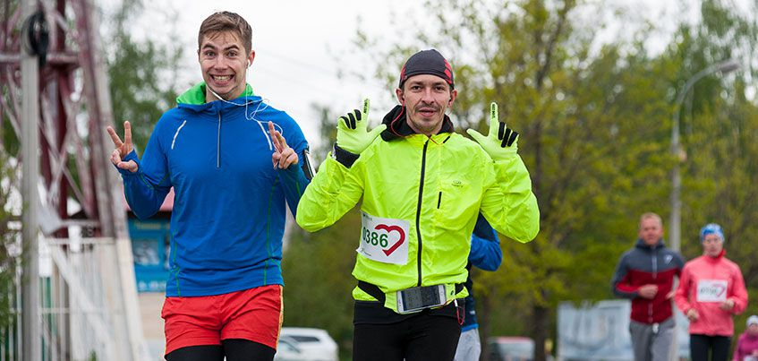 «Зеленый марафон» в Ижевске: более 750 участников вышли на старт забега
