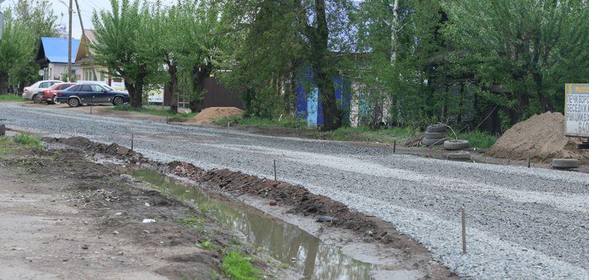 В Ижевске приостановили ремонт улицы Партизанской