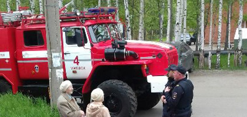 В Ижевске эвакуировали людей из 7 ГКБ из-за подозрительного вещества