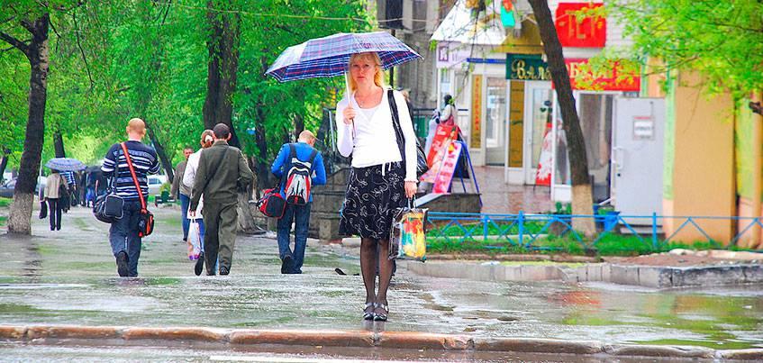 Погода в Ижевске: Выходные ожидаются дождливыми и прохладными