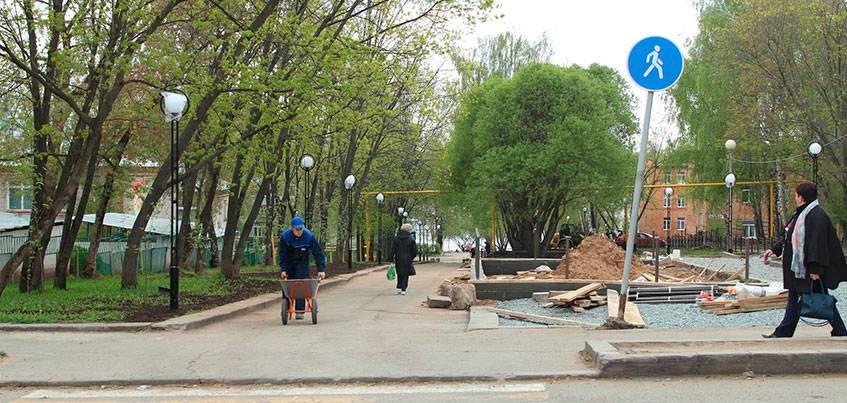 Бульвар Воскресенского планируют реконструировать к 10 июня