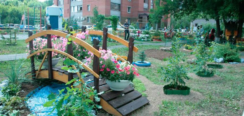 До 31 июля принимаются заявки на конкурс «Ижевск - цветущий город»