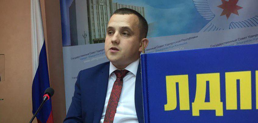 Тимур Ягафаров представит партию ЛДПР на выборах Главы Удмуртии