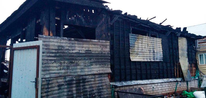 Многодетная семья из Ижевска осталась без крыши над головой после пожара