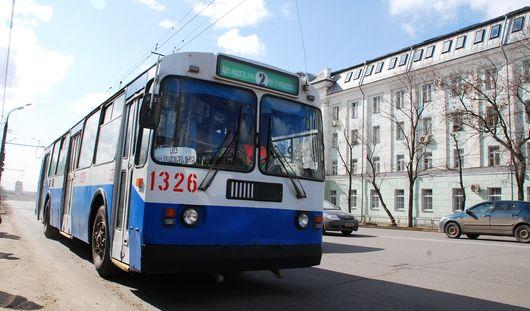 В Ижевске закрываются несколько троллейбусных маршрутов