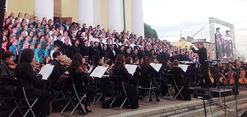 20-й юбилейный Большой хоровой собор прошел в Ижевске накануне Дня города