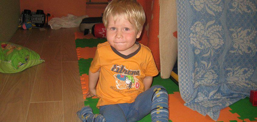 Нужна помощь: у 3-летнего Димы из Ижевска опухоль мозга