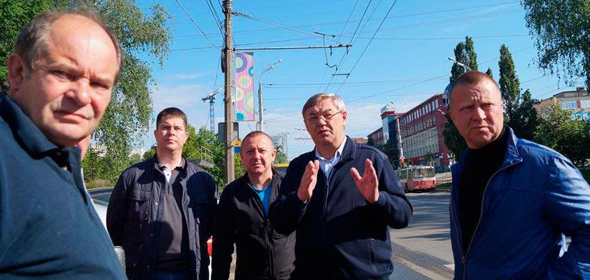 В Ижевске проведены объезды объектов благоустройства всех пяти районов