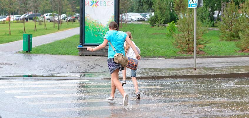 Погода в Ижевске: Выходные ожидаются теплыми и дождливыми
