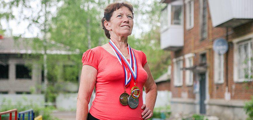 На пенсии ижевчанка бегает марафоны и танцует