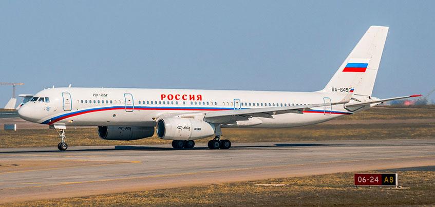 Самолет Владимира Путина приземлился в аэропорту Ижевска