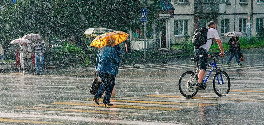 Погода в Ижевске: В выходные похолодает до +20 градусов