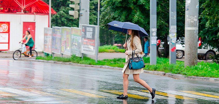 Погода в Ижевске: В будни ожидается теплая и дождливая погода