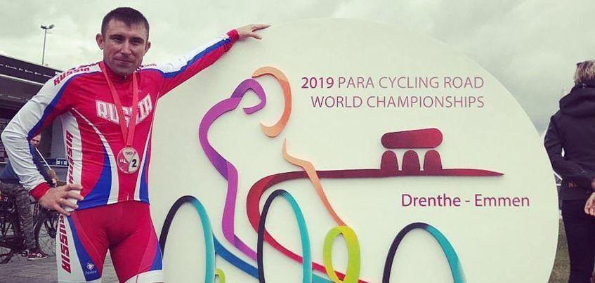Велогонщик из Удмуртии Сергей Пудов стал вторым в групповой гонке на Кубке Мира по паравелоспорту-шоссе