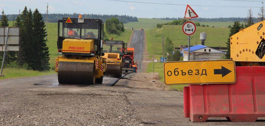 В Удмуртии закончат ремонт дороги «Завьялово-Каменное» к 28 августа