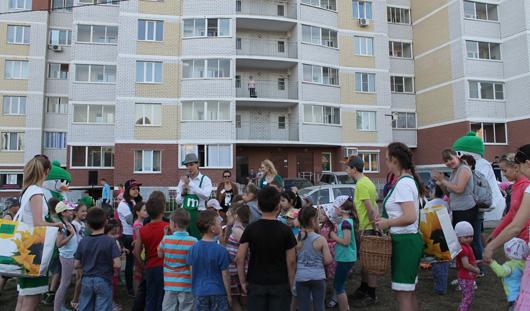 В домах «Талана» соседи собираются на праздники