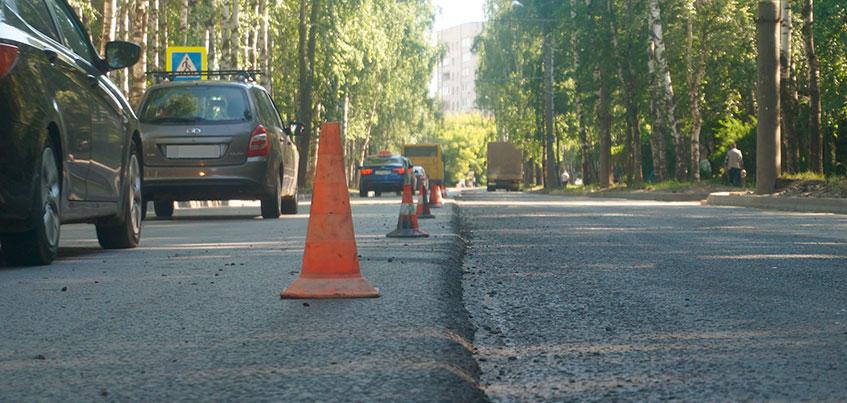 В Ижевске уже отремонтировали 22 участка дорог из 32 запланированных